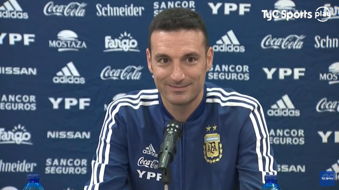 斯卡洛尼:11月梅西和阿圭罗会回归阿根廷国家队