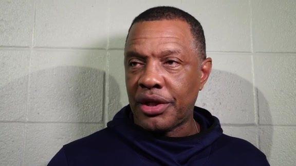 金特里:我喜欢球队的努力程度,我们需要保持执行力