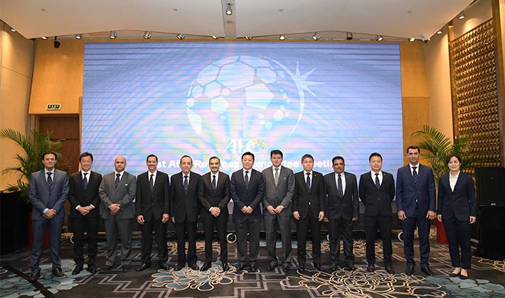 亚足联裁委会会议在青岛召开,首次在中国举办