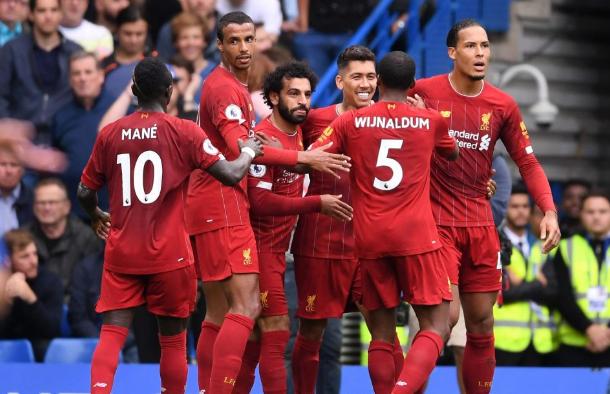 枪手名宿:这支利物浦等于赢球机器,曼联拿甚么 赢