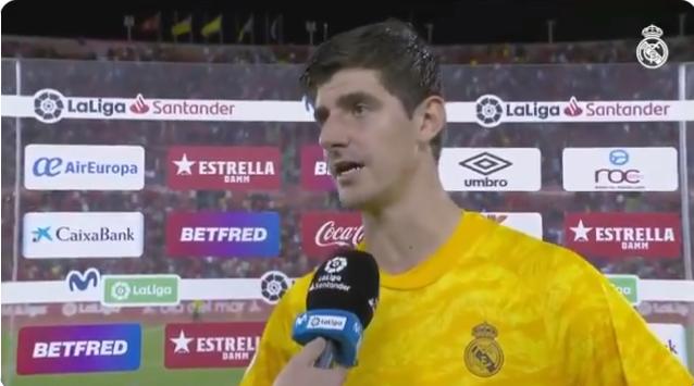 库尔图瓦:皇马其实踢得不差,原本最多能进3个球的