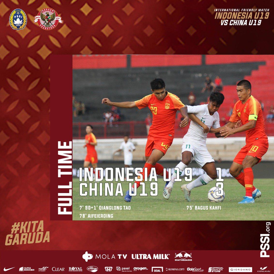 报一箭之仇!陶强龙双响,国青热身赛3-1取胜印尼