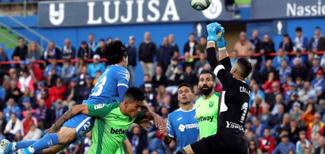 西甲:罗德里格斯梅开二度,赫塔菲2-0莱加内斯