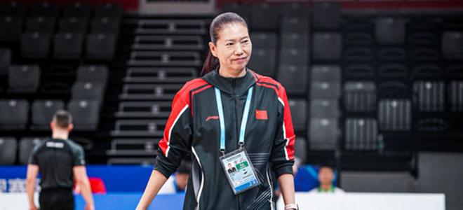 展淑萍:要有信心去战胜每一个对手,女篮目标是夺金牌