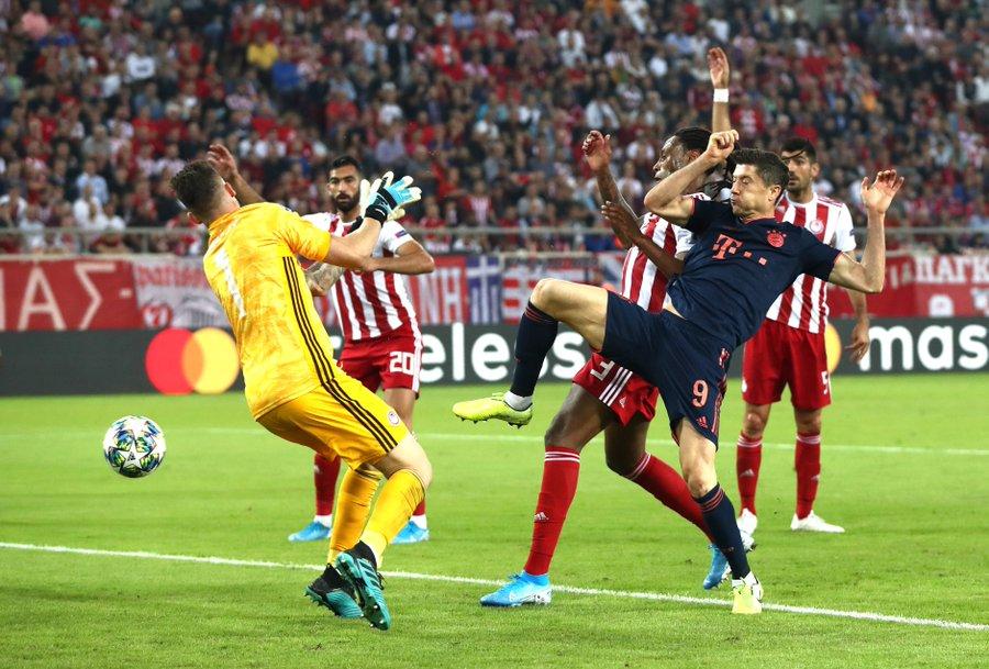 GIF:连场破门!莱万梅开二度,拜仁反超比分
