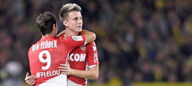 法甲:本耶德尔连场破门,摩纳哥1-0客胜南特