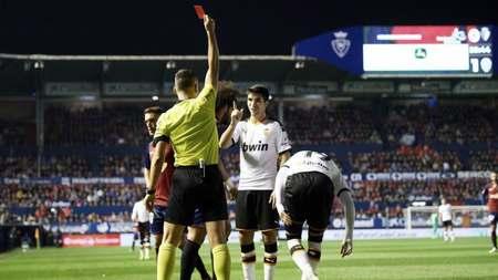 又上头了?罗德里戈代表瓦伦第四次取得进球后被红牌罚下