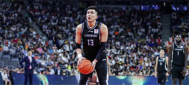 郭艾伦常规赛得分追平刘铁,位列本土球员第34位