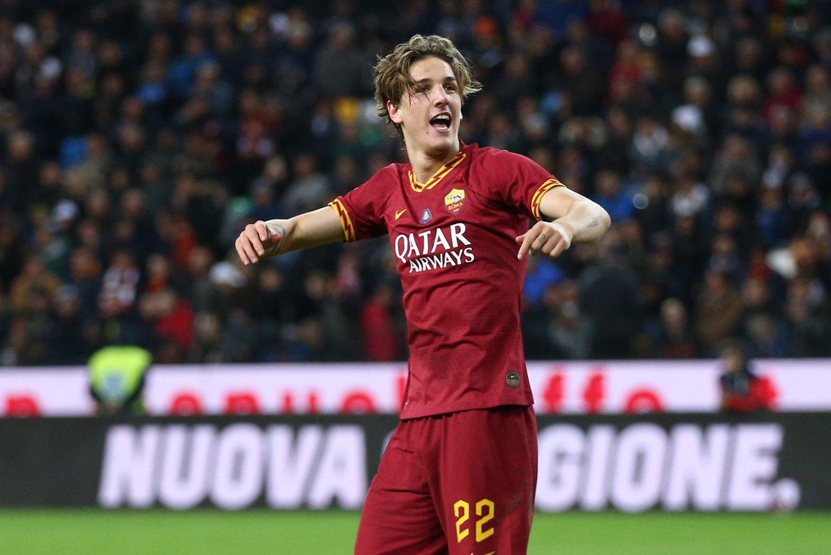 连续4场进球!扎尼奥洛在罗马展现出众天赋
