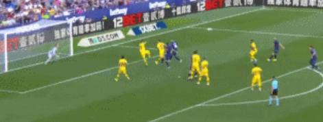 GIF:兵败如山倒,莱万特再进一球,3-1领先巴萨
