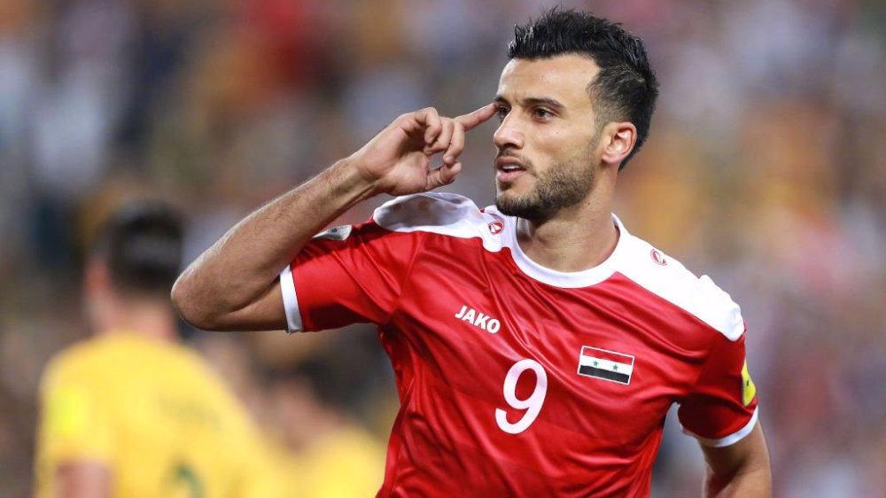 状态火热,叙利亚前锋索玛新赛季12战攻入13球