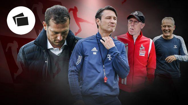 德甲球队换帅频率排行:拜仁换14次,沙尔克换帅最勤