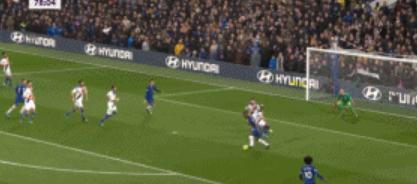 GIF:普利西奇头球补射破门,切尔西主场2-0水晶宫