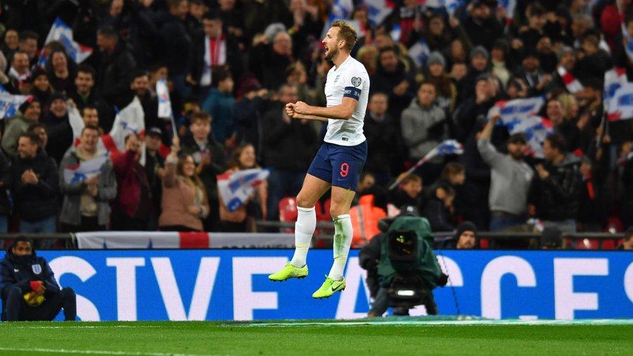GIF:凯恩头球梅开二度,英格兰三球领先黑山