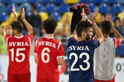 叙利亚1-0菲律宾,国足凭借净胜球优势仍排小组第二