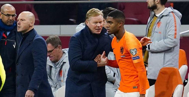 科曼:益苗子半年就会成长,荷兰欧洲杯的名额竞争强烈