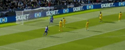 GIF:恩-尼西里世界波破门,巴萨客场0-1落后