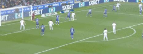 GIF:卡瓦哈尔补射破门,皇马迅速反超比分