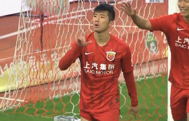 GIF:又进一个!李圣龙破门,上港7-0深圳