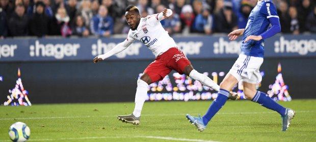 法甲:里昂逆转斯堡,里尔尼斯蒙彼利埃奏凯