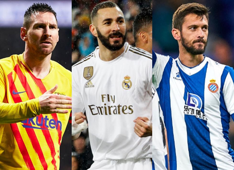 皇马已有14人进球,追平巴萨与西班牙人成西甲最多