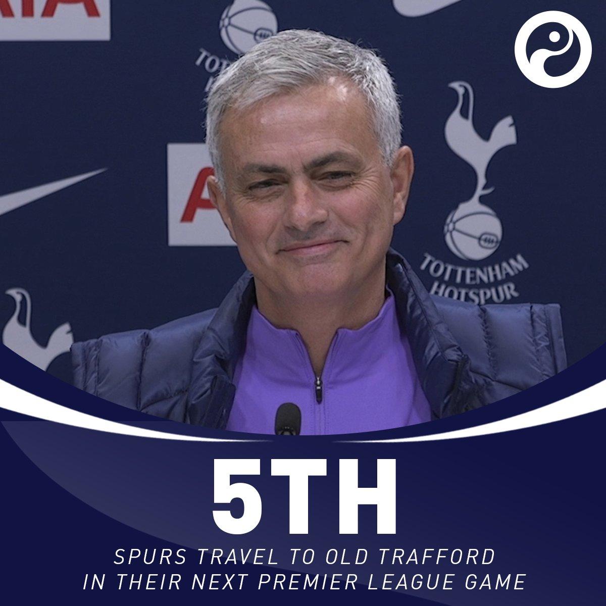 唯有后3轮比赛全胜,曼联才能超穆帅下课时的17轮26分