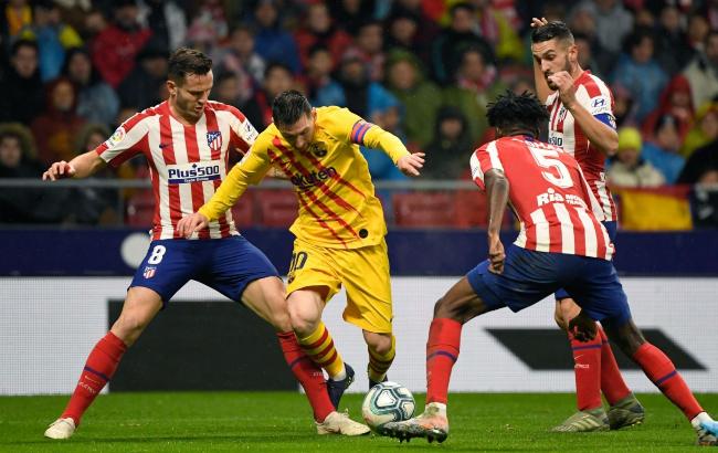 半场:皮克中柱特尔施特根神扑菲尔波险乌龙,马竞0-0巴塞罗那