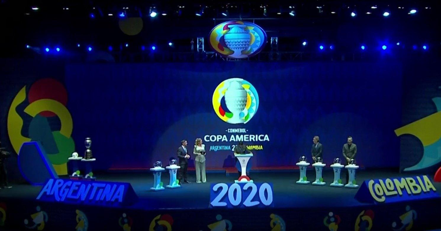 2020年美洲杯分组:澳大利亚碰阿根廷,卡塔尔遇巴西
