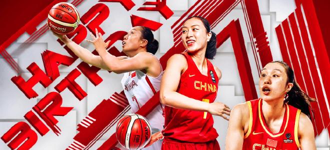 FIBA晒海报为邵婷送祝福:中国女篮的中流砥柱生日快乐