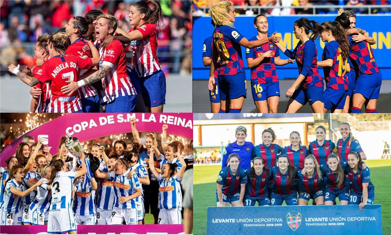 官方:首届西班牙女足超级杯将举行,巴萨马竞等四队参赛