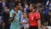 布斯克茨因赛后抨击裁判判罚,恐被足协罚款3万欧元