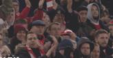 GIF:三球两助全场最佳!库鸟下场接受球迷全场掌声