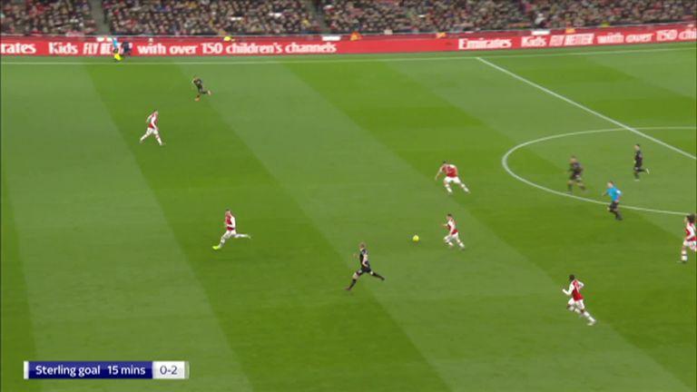 卡拉格:当对手持球进攻时,阿森纳的后防线只会不断后退