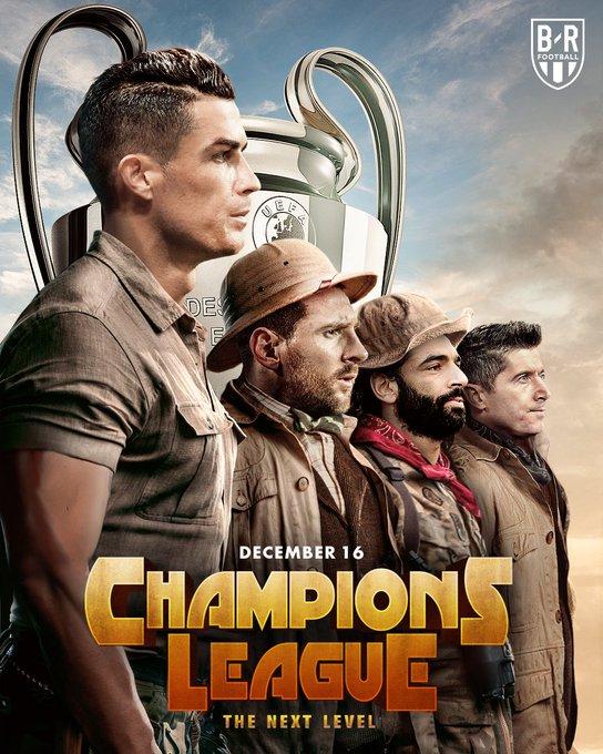 B/R创意海报:欧冠淘汰赛对阵悬念,今晚即将揭晓
