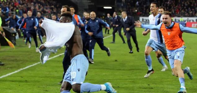 意甲:凯塞多阿尔贝托补时破门,拉齐奥2-1卡利亚里