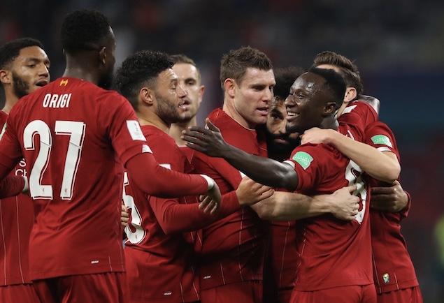 世俱杯:凯塔破门菲尔米诺压哨绝杀,利物浦2-1蒙特雷