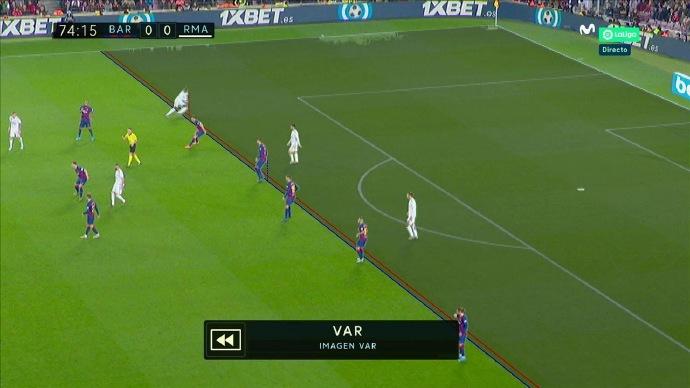 GIF:门迪越位在先,助攻贝尔破门无效,比分仍为0-0