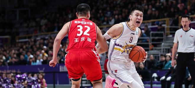 孙悦本场比赛砍下27分,追平生涯单场得分纪录