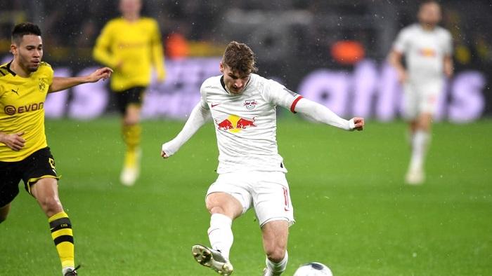 踢球者德甲本轮最佳阵容:维尔纳领衔,拜仁多特无人入选