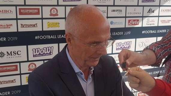 教练埃里克森:希望拉齐奥能加入本赛季意甲联赛竞争中