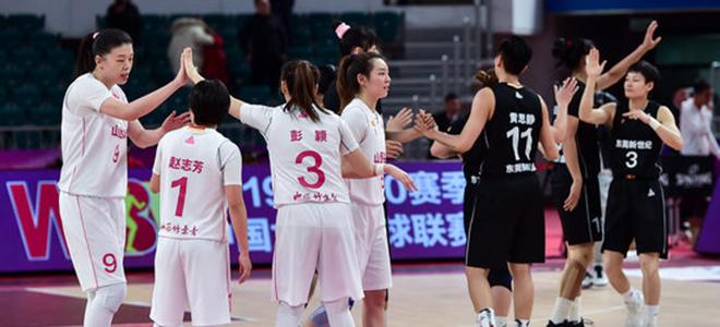 WCBA综述:广东力克山西豪取12连胜