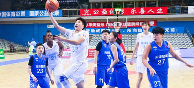 WCBA:北京终局广东开局12连胜,八一大胜山西