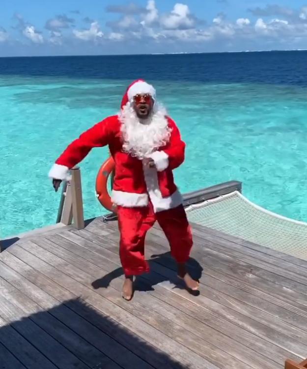 图集:欢庆圣诞,众球星纷纷送上祝福,你pick哪一款?