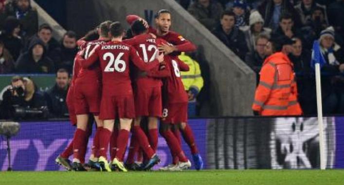 冠军在招手!本轮第二第三第四均输球,利物浦领先13分