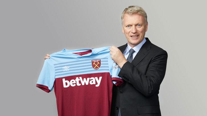官方:西汉姆联宣布莫耶斯成为球队新任主帅