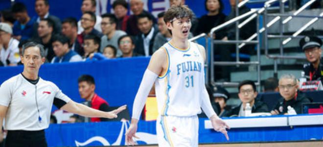 王哲林CBA生涯总得分超林志杰,上升至历史第44位