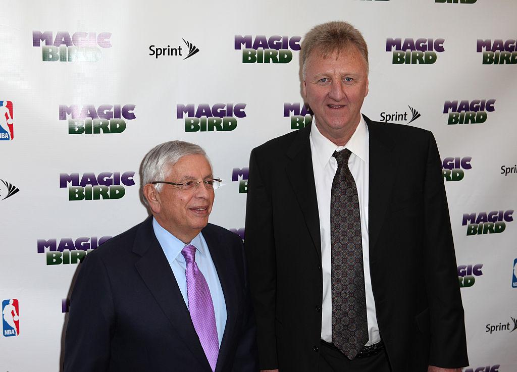 伯德悼念斯特恩:他将NBA发展到新高度,我们永远怀念他