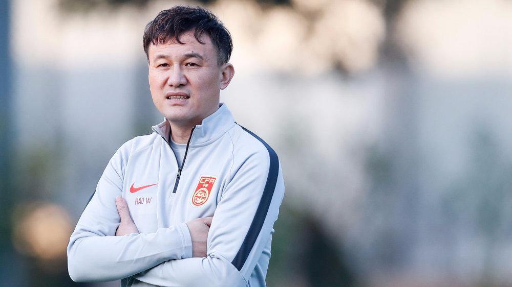 记者:国奥教练组召开战术分析会,解析韩国国奥技战术