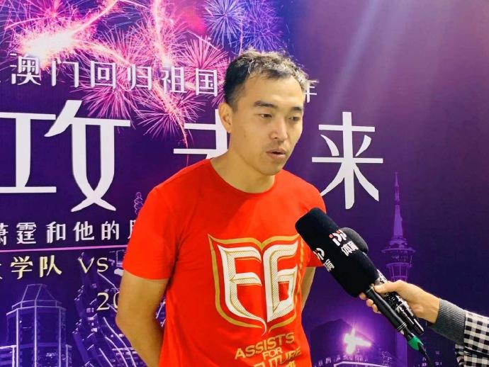 冯潇霆:但愿武磊越来越好,等候国足冲进卡塔尔世界杯