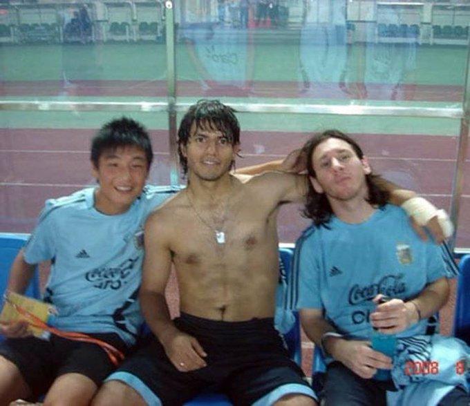 阿斯晒武磊梅西名场面:梅西阿圭罗和西甲球星,猜是谁?